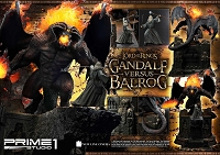 Lord of the Rings: Gandalf Versus Balrog